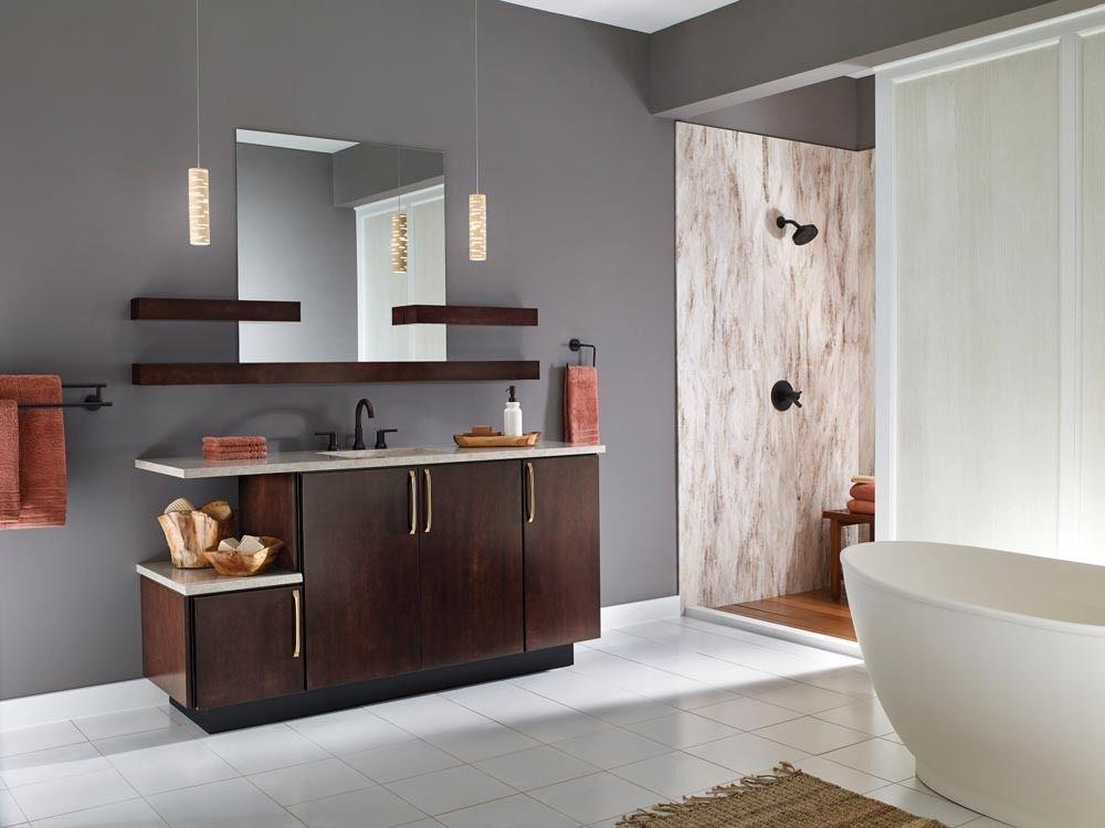 Hannapel Custom Bathroom Cabinets Michigan